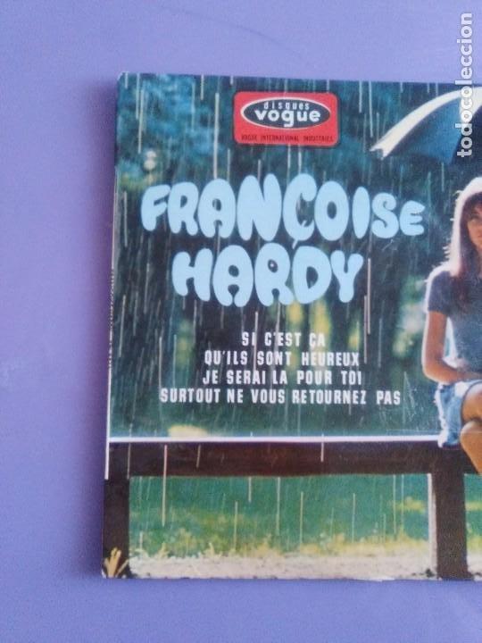 Discos de vinilo: MUY RARO EP. FRANÇOISE HARDY Si cest ça/Quils sont hereux +2. AÑO1966 Vogue EPL 8511 FRANCIA - Foto 3 - 205323075