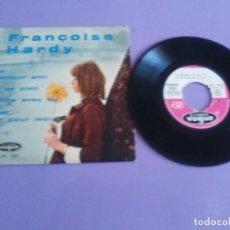 Discos de vinilo: EP 1962.FRANÇOISE HARDY.TON MEILLEUR AMI/ON SE PLAIT/LA FILLE AVEC TOI/IL EST TOUT POUR MOI. FRANCIA. Lote 205324776