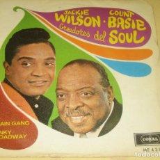 Discos de vinilo: JACKIE WILSON - VINILO EN PERFECTO ESTADO - CONSERVA EL TRIANGULO. Lote 205324866