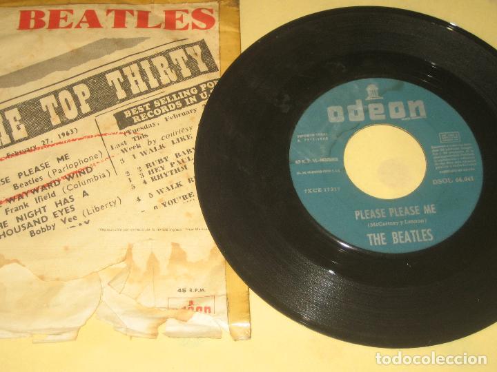 BEATLES - ED. ESPAÑOLA DE 1963 (Música - Discos de Vinilo - EPs - Pop - Rock Extranjero de los 70)
