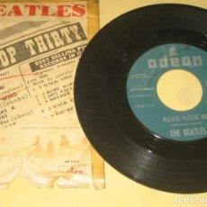 Discos de vinil: BEATLES - ED. ESPAÑOLA DE 1963. Lote 205325001