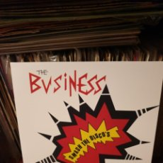 Discos de vinilo: THE BUSINESS / SMASH THE DISCO'S / MAD BUTCHER 2015. Lote 205325330
