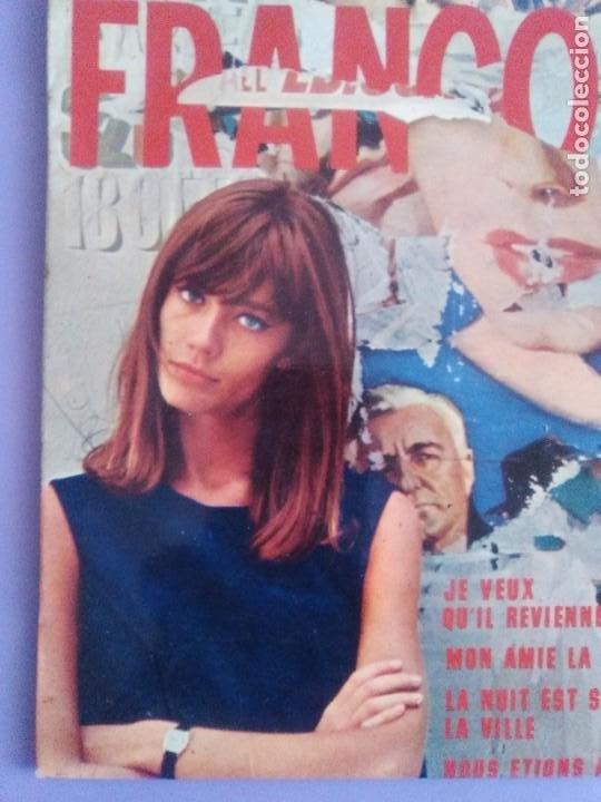 Discos de vinilo: EP. FRANÇOISE HARDY/JE VEUX QUIL REVIENNE/MON AMIE LA ROSE/LA NUIT EST SUR LA VI.FRANCIA.1964 - Foto 3 - 205325445