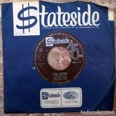 Discos de vinilo: BOX TOPS. THE LETTER/ HAPPY TIMES. STATESIDE, UK 1967 SINGLE. Lote 205330022