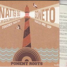 Discos de vinilo: NATTY BO&THE GOLDMASTERS ALLSTARS + SOWETO - PONEN ROOTS - ROCKSTEADY SKA - SPLIT SINGLE. Lote 205332665