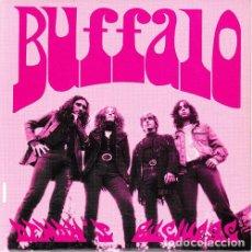 Discos de vinilo: BUFFALO - DEMONS BUSINESS + THE CREPITOS - LAZY MAN - LEON - HARD ROCK POWER POP. Lote 205340780