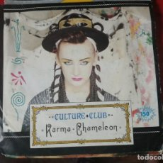 Discos de vinilo: CULTURE CLUB -- KARMA CHAMALEON / THAT'S THE WAY, VIRGIN, 1983.. Lote 205341017