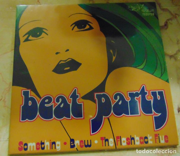 BEAT PARTY - THE FLASHBACK FIVE / SOMETHING / THE BREW - EP 1996 (Música - Discos de Vinilo - EPs - Pop - Rock Extranjero de los 90 a la actualidad)