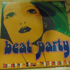 Discos de vinilo: BEAT PARTY - THE FLASHBACK FIVE / SOMETHING / THE BREW - EP 1996. Lote 205345081