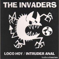 Discos de vinilo: THE INVADERS - MAS POSITIVOS - SPLIT EP - LEON - PUNK - ROCK - POWER POP. Lote 205353601
