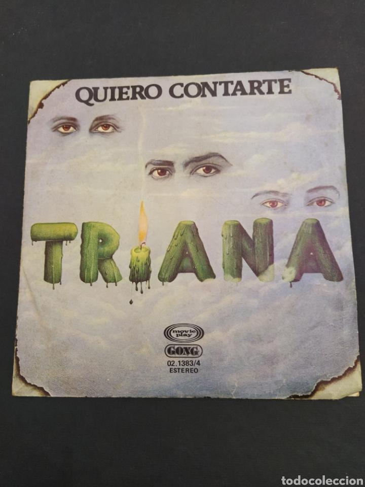 TRIANA - QUIERO CONTARTE/VUELTA A LA SOMBRA Y A LA LUZ (Música - Discos - Singles Vinilo - Grupos Españoles de los 70 y 80)
