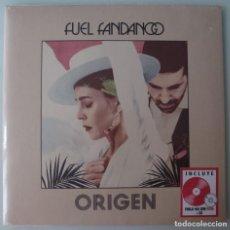 Disques de vinyle: FUEL FANDANGO - ORIGEN (LP+CD WARNER 2020) VINILO ROSA. NUEVO Y PRECINTADO.. Lote 205362500