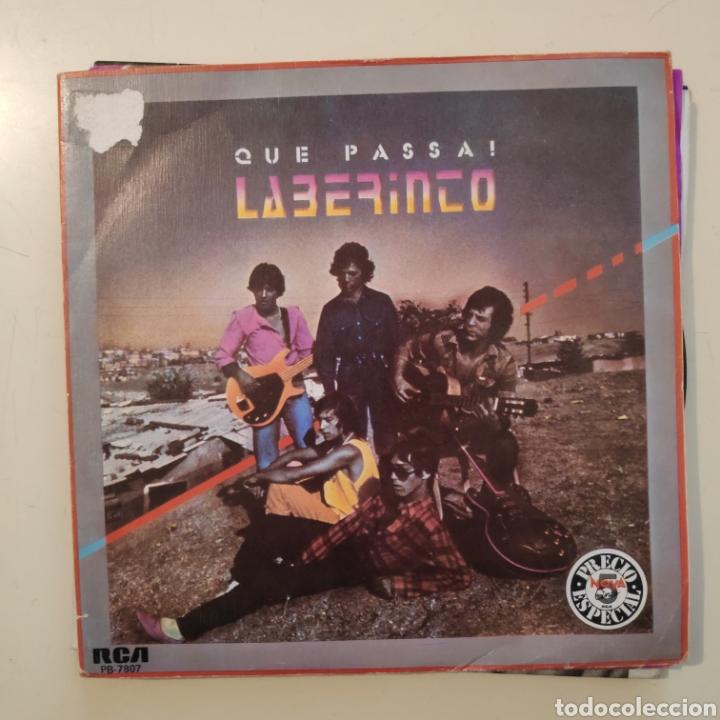 NT LABERINTO - QUE PASSA + SALUD Y LIBERTAD 1983 PROMO PROMOCIONAL SPAIN SINGLE VINILO (Música - Discos - Singles Vinilo - Flamenco, Canción española y Cuplé)