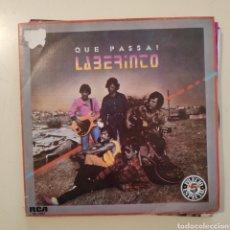 Discos de vinilo: NT LABERINTO - QUE PASSA + SALUD Y LIBERTAD 1983 PROMO PROMOCIONAL SPAIN SINGLE VINILO. Lote 205363413
