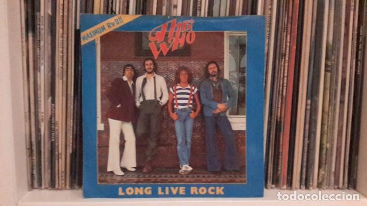 WHO - LONG LIVE ROCK (Música - Discos de Vinilo - EPs - Pop - Rock Internacional de los 50 y 60)