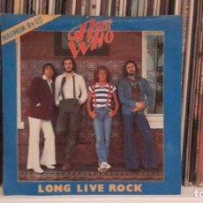 Discos de vinilo: WHO - LONG LIVE ROCK. Lote 205366720