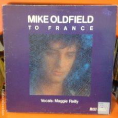 Discos de vinilo: MIKE OLDFIELD TO FRANCE - MAXI. Lote 205371711