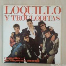 Discos de vinilo: LOQUILLO Y LOS TROGLODITAS – ¡A POR ELLOS...! QUE SON POCOS Y COBARDES - 2 LP - HISPAVOX - 1989. Lote 205371918