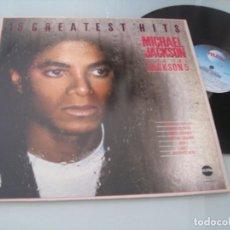 Discos de vinilo: MICHAEL JACKSON - 18 GREATEST HITS - PLUS THE JACKSON 5 ...LP DE - MOTOWN - TELSTAR - 1983. Lote 205372111