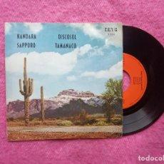 Discos de vinilo: EP CONJUNTO NUEVA ONDA - KANDARA / DISCOSOL / SAPPORO / TAMANACO - Z-1.126 - SPAIN PRESS (EX/NM). Lote 205381653