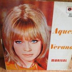 Discos de vinilo: MARISOL AQUEL VERANO LP HECHO EN PERU VER LAS CANCIONES EN FOTO. Lote 205381778
