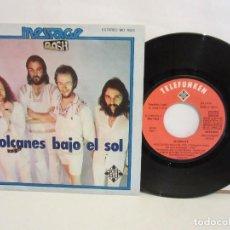 Discos de vinilo: MESSAGE - VOLCANES BAJO EL SOL - SINGLE - ROCK PROGRESIVO - 1976 - SPAIN - VG/VG. Lote 205382296