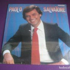 Discos de vinilo: PAOLO SALVATORE LP HISPAVOX PRECINTADO 1981 - LATIN POP - BALADA ITALIA 80'S. Lote 205388781