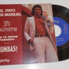 Discos de vinilo: DISCO VINILLO DE EL PAYO. Lote 205392105