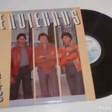 Discos de vinilo: DISCO VINILLO LP DE LA BANDA LOS REQUIEBROS. Lote 205392828