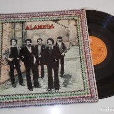 Discos de vinilo: DISCO VINILLO LP DE LA BANDA ALAMEDA. Lote 205393001