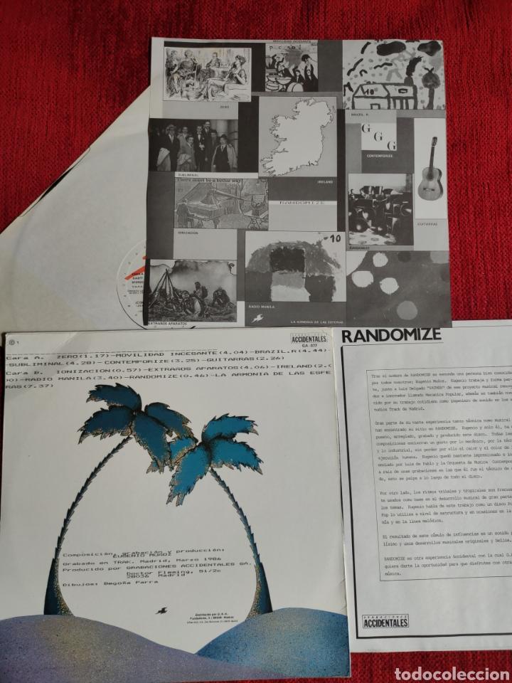 Discos de vinilo: RANDOMIZER LP CÓMO SE DIVERTIRÁN LOS INSECTOS? 1986 - Foto 2 - 205393806