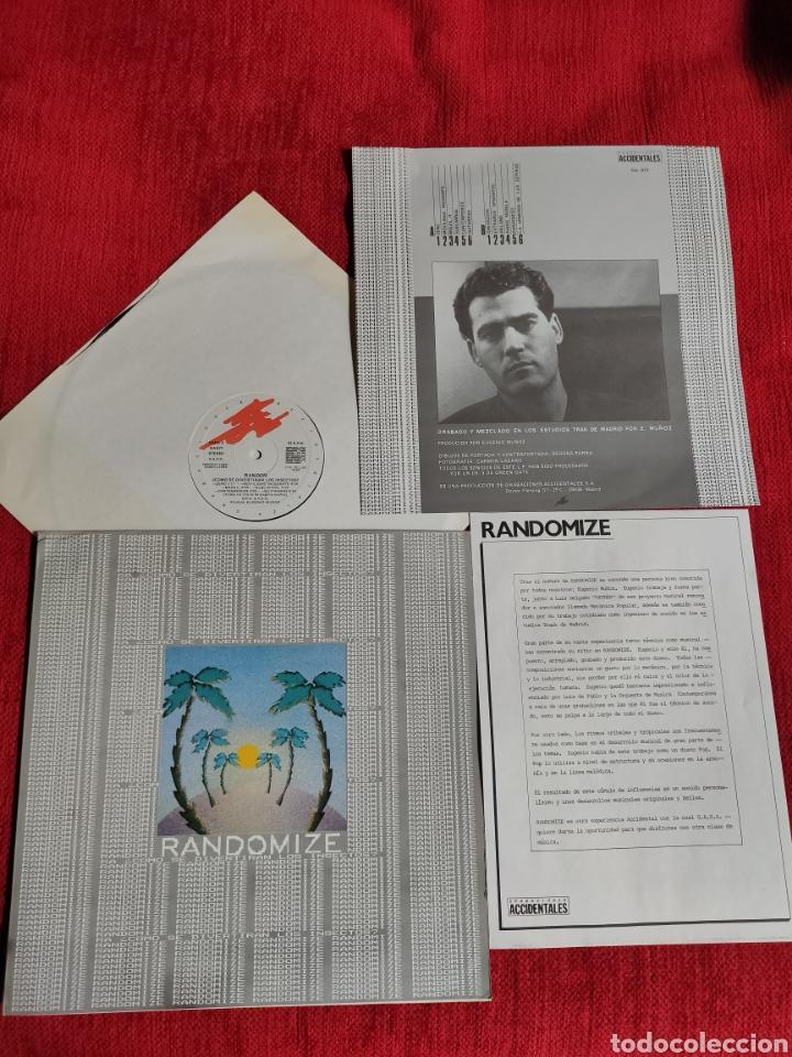 RANDOMIZER LP CÓMO SE DIVERTIRÁN LOS INSECTOS? 1986 (Música - Discos - LP Vinilo - Electrónica, Avantgarde y Experimental)