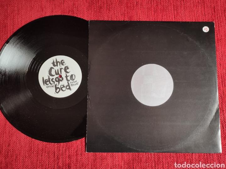 Discos de vinilo: THE CURE/ LETS GO TO BED 1990 NUEVO - Foto 2 - 205394200