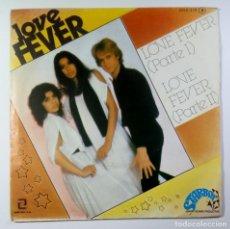 Discos de vinilo: LOVE FEVER - LOVE FEVER PARTE 1 & 2 - SINGLE PROMOCIONAL 1978 - ZAFIRO (DISCO). Lote 205399186