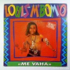 Discos de vinilo: QUIQUE TEJADA FEAT LOUIS M´BOMIO ME VAHA - SINGLE PROMO 1991 (S/SIDED) - BASIC MIX. Lote 205400065