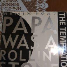 Discos de vinilo: THE TEMPTATIONS. PAPÁ WAS A ROLLIN'STONE.. Lote 205401077