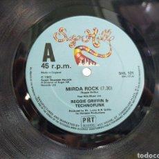 Discos de vinilo: REGGIE GRIFFIN & TECHNOFUNK MAXI MIRDA ROCK 1982. Lote 205403392