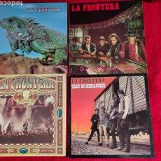 Discos de vinilo: LA FRONTERA 4 LPS. NUEVOS A ESTRENAR. Lote 205405087