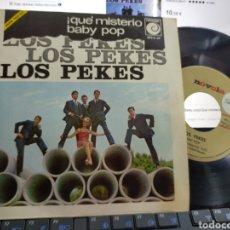Discos de vinilo: LOS PEKES SINGLE PROMOCIONAL BABY POP 1967. Lote 205405567