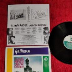 Discos de vinilo: GALLIANO A JAYFUL NOISE UNTO THE CREATOR EDI. ALEMANIA. Lote 205406215