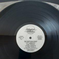Discos de vinilo: TIME...IS- TIME- MIX. LABEL MATRICULA RECORDS.SOLO DISCO 2, CARAS C Y D. ELECTRONIC. ITALO DISCO.. Lote 205408540