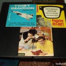 Discos de vinilo: LOTE PEPPINO DI CAPRI 3 EP'S EDICIONES ESPAÑOLAS. Lote 205409523