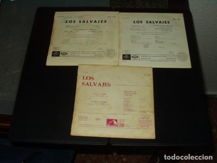 Discos de vinilo: LOTE SLAVAJES 2 EPS Y UN SINGLE - Foto 2 - 205410463