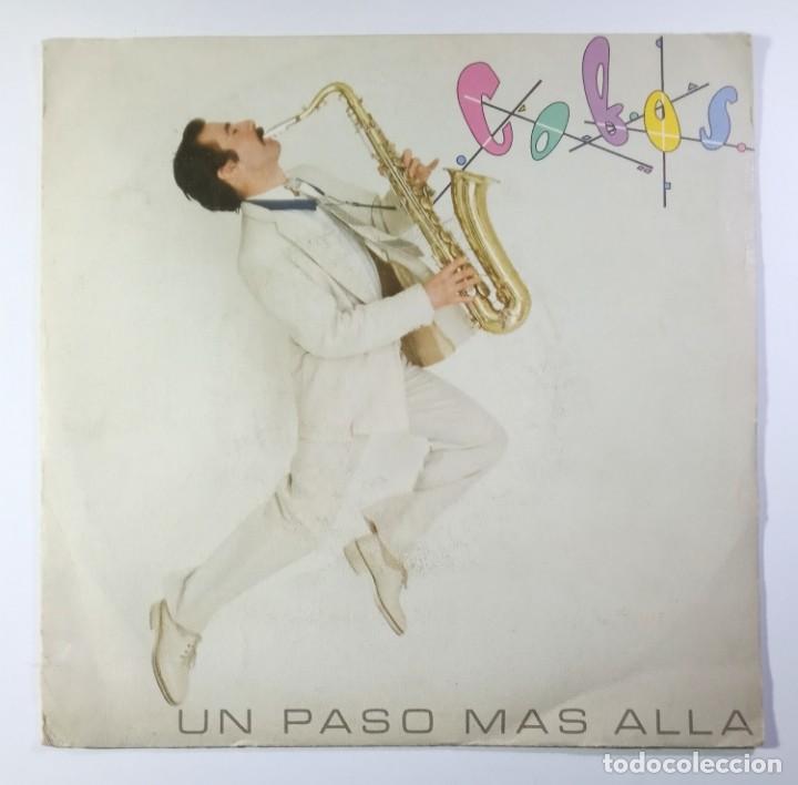 LUIS COBOS - UN PASO MAS ALLA / EL LAGO - SINGLE PROMO 1978 - CBS (Música - Discos - Singles Vinilo - Solistas Españoles de los 70 a la actualidad)