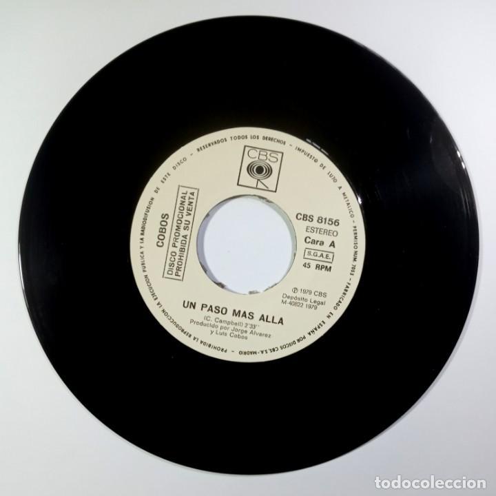 Discos de vinilo: LUIS COBOS - un paso mas alla / el lago - SINGLE PROMO 1978 - CBS - Foto 3 - 205423753