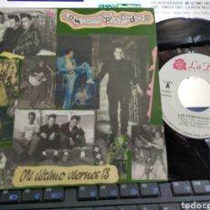 Discos de vinilo: LOS DESPIADADOS SINGLE PROMOCIONAL MI ÚLTIMO VIERNES 13 1991. Lote 205431733