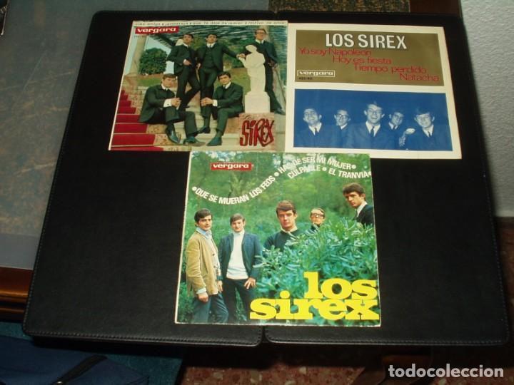 LOTE 3 EP'S SIREX (Música - Discos - Singles Vinilo - Grupos Españoles 50 y 60)