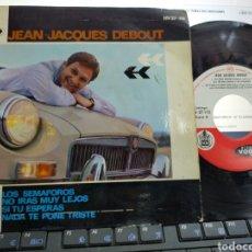Discos de vinilo: JEAN JACQUES DEBOUT EP LOS SEMÁFOROS + 3 ESPAÑA 1964. Lote 205432395