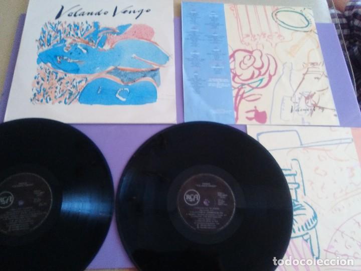 DOBLE LP RARISIMO CAMARON DE LA ISLA KIKO VENENO MORENTE KETAMA RAY HEREDIA ETC -VOLANDO VOY... (Música - Discos - LP Vinilo - Grupos Españoles de los 90 a la actualidad)