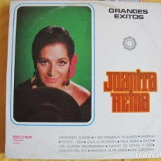Disques de vinyle: LP - JUANITA REINA - GRANDES EXITOS (SPAIN, BELTER 1972). Lote 205435475